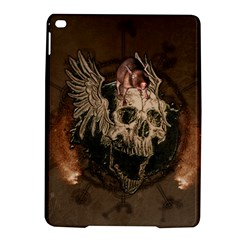 Awesome Creepy Skull With Rat And Wings Ipad Air 2 Hardshell Cases by FantasyWorld7