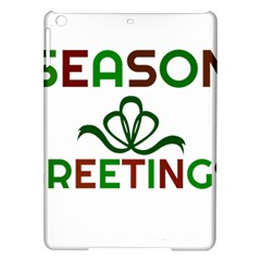 Season Greetings Ipad Air Hardshell Cases by Colorfulart23