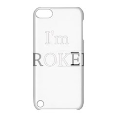 I Am Ok   Broken Apple Ipod Touch 5 Hardshell Case With Stand by Valentinaart
