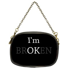 I Am Ok   Broken Chain Purses (two Sides)  by Valentinaart