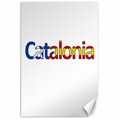 Catalonia Canvas 24  X 36  by Valentinaart