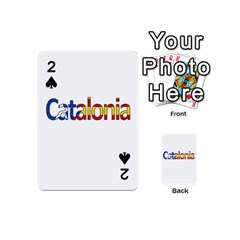 Catalonia Playing Cards 54 (mini)  by Valentinaart