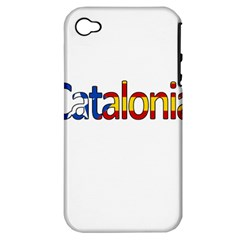 Catalonia Apple Iphone 4/4s Hardshell Case (pc+silicone)