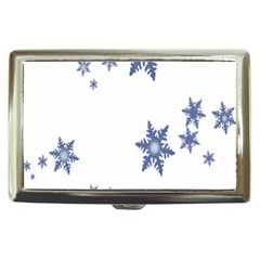 Star Snow Blue Rain Cool Cigarette Money Cases by AnjaniArt