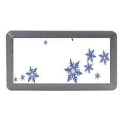 Star Snow Blue Rain Cool Memory Card Reader (mini) by AnjaniArt