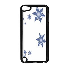Star Snow Blue Rain Cool Apple Ipod Touch 5 Case (black) by AnjaniArt