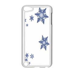 Star Snow Blue Rain Cool Apple Ipod Touch 5 Case (white) by AnjaniArt