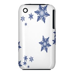 Star Snow Blue Rain Cool Iphone 3s/3gs by AnjaniArt