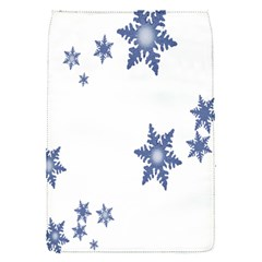 Star Snow Blue Rain Cool Flap Covers (s)  by AnjaniArt