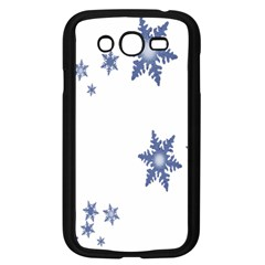 Star Snow Blue Rain Cool Samsung Galaxy Grand Duos I9082 Case (black) by AnjaniArt