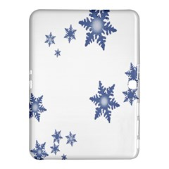 Star Snow Blue Rain Cool Samsung Galaxy Tab 4 (10 1 ) Hardshell Case  by AnjaniArt