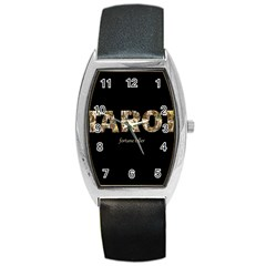Tarot Fortune Teller Barrel Style Metal Watch by Valentinaart