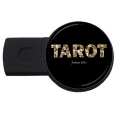 Tarot Fortune Teller Usb Flash Drive Round (4 Gb) by Valentinaart