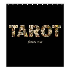 Tarot Fortune Teller Shower Curtain 66  X 72  (large)  by Valentinaart
