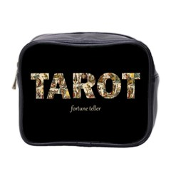 Tarot Fortune Teller Mini Toiletries Bag 2-side by Valentinaart