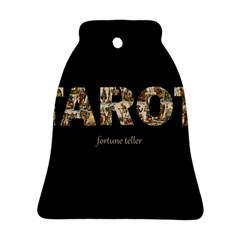 Tarot Fortune Teller Bell Ornament (two Sides)