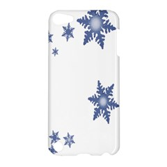 Star Snow Blue Rain Cool Apple Ipod Touch 5 Hardshell Case by AnjaniArt