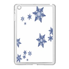 Star Snow Blue Rain Cool Apple Ipad Mini Case (white) by AnjaniArt