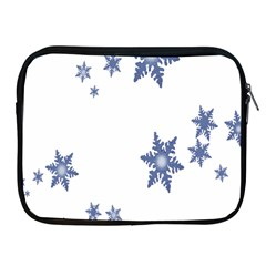 Star Snow Blue Rain Cool Apple Ipad 2/3/4 Zipper Cases by AnjaniArt