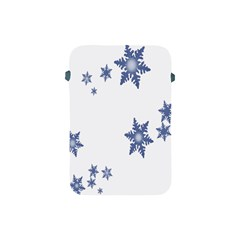 Star Snow Blue Rain Cool Apple Ipad Mini Protective Soft Cases by AnjaniArt