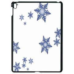 Star Snow Blue Rain Cool Apple Ipad Pro 9 7   Black Seamless Case by AnjaniArt