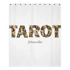 Tarot Fortune Teller Shower Curtain 60  X 72  (medium)