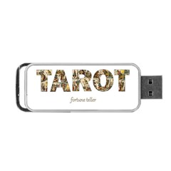 Tarot Fortune Teller Portable Usb Flash (one Side) by Valentinaart