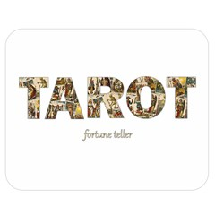 Tarot Fortune Teller Double Sided Flano Blanket (medium)  by Valentinaart