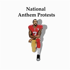 National Anthem Protest Canvas 16  X 16   by Valentinaart