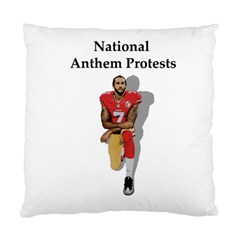 National Anthem Protest Standard Cushion Case (two Sides) by Valentinaart