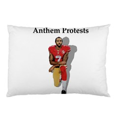 National Anthem Protest Pillow Case by Valentinaart