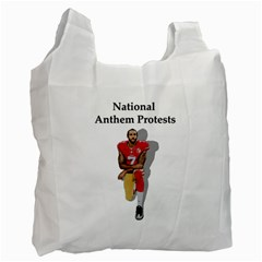 National Anthem Protest Recycle Bag (one Side) by Valentinaart