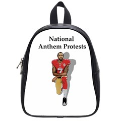 National Anthem Protest School Bag (small) by Valentinaart