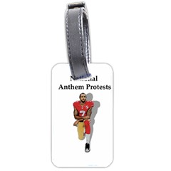 National Anthem Protest Luggage Tags (two Sides) by Valentinaart