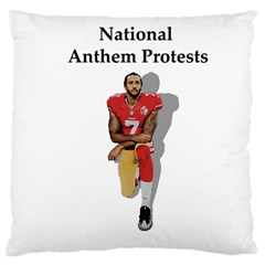 National Anthem Protest Large Cushion Case (two Sides)