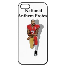 National Anthem Protest Apple Iphone 5 Seamless Case (black)