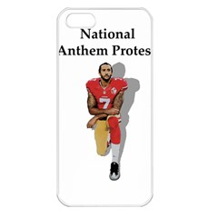 National Anthem Protest Apple Iphone 5 Seamless Case (white) by Valentinaart