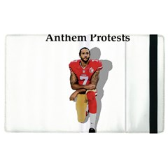 National Anthem Protest Apple Ipad 3/4 Flip Case by Valentinaart