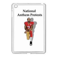 National Anthem Protest Apple Ipad Mini Case (white) by Valentinaart