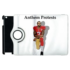 National Anthem Protest Apple Ipad 2 Flip 360 Case by Valentinaart