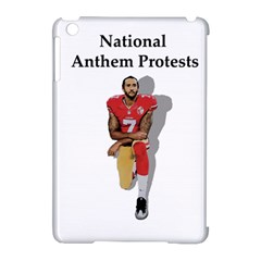 National Anthem Protest Apple Ipad Mini Hardshell Case (compatible With Smart Cover) by Valentinaart