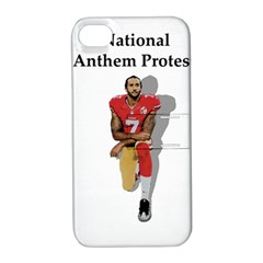 National Anthem Protest Apple Iphone 4/4s Hardshell Case With Stand by Valentinaart