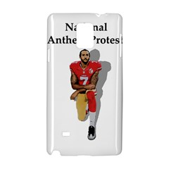 National Anthem Protest Samsung Galaxy Note 4 Hardshell Case by Valentinaart