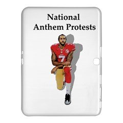 National Anthem Protest Samsung Galaxy Tab 4 (10 1 ) Hardshell Case  by Valentinaart