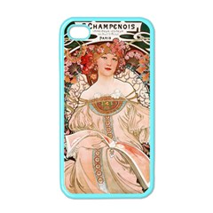 Alfons Mucha   F  Champenois Imprimeur ¨|diteur Apple Iphone 4 Case (color) by 8fugoso