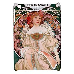 Alfons Mucha   F  Champenois Imprimeur ¨|diteur Apple Ipad Mini Hardshell Case by 8fugoso