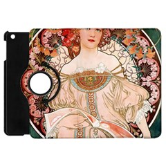 Alfons Mucha   F  Champenois Imprimeur ¨|diteur Apple Ipad Mini Flip 360 Case by 8fugoso