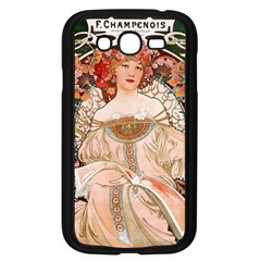 Alfons Mucha   F  Champenois Imprimeur ¨|diteur Samsung Galaxy Grand Duos I9082 Case (black) by 8fugoso