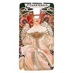 Alfons Mucha   F  Champenois Imprimeur ¨|diteur Galaxy Note 4 Back Case by 8fugoso