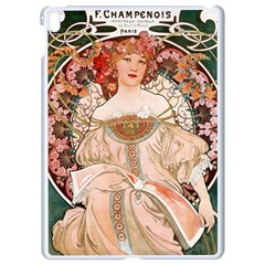 Alfons Mucha   F  Champenois Imprimeur ¨|diteur Apple Ipad Pro 9 7   White Seamless Case by 8fugoso